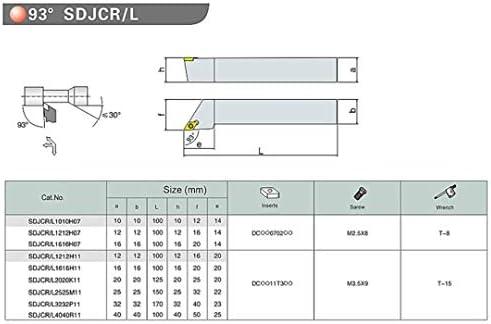 GENERICS LSB-Werkzeuge, 4pcs 10mm Schaft Bohrstange Stahl Werkzeughalter mit 4pcs L Schraubenschlüssel for CNC-Drehmaschine Drehwerkzeug