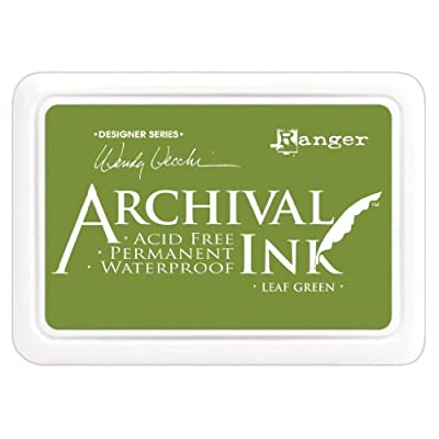 Ranger Wendy Vecchi Designer Series Archival Ink Pad, Leaf Green