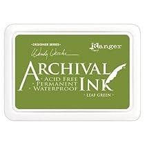 Ranger Wendy Vecchi Designer Series Archival Ink Pad, Leaf Green