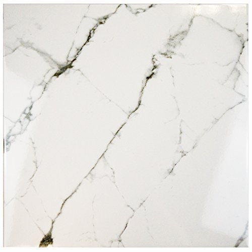 SomerTile FPE18CLC Clasico Marble Ceramic Floor and Wall Tile, 18