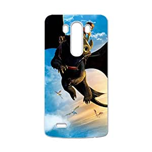 QQQO Black bat and man Cell Phone Case for LG G3