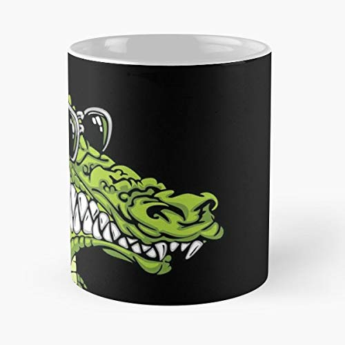 Cool Crocodile Alligator Funny - Funny Gifts For Men And Women Gift Coffee Mug Tea Cup White 11 Oz.the Best Holidays.