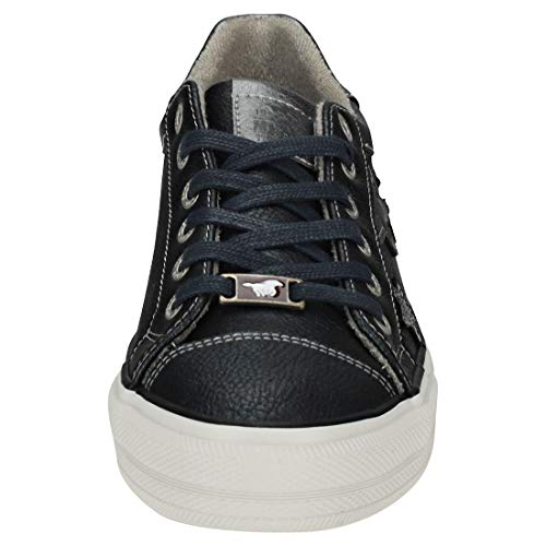 Femmes Lace Baskets Low up With Top Mustang Navy Eyelets 6 fxH07qOcSw