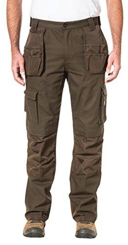 2013 Caterpillar - Caterpillar Men's Trademark Pant (Regular and Big & Tall Sizes), Dark Earth, 32W x 32L