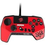 ストリートファイター V ファイトパッド PRO レッド KENデザイン (PlayStation3 / PlayStation4) タッチパッド・ボタン L3 / R3 ボタン LED ライトバー 機能 搭載