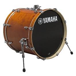 Yamaha Stage Custom Birch 18×15 Bass Drum, Honey Amber