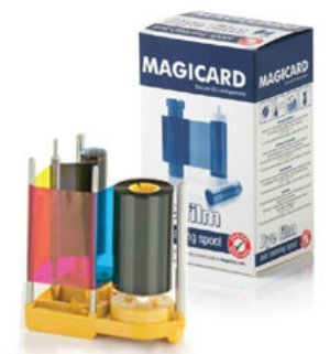 Magicard Prima434 - YMCK-UV Dye Film - 750 Images with UV (Panel Color Dye Film)