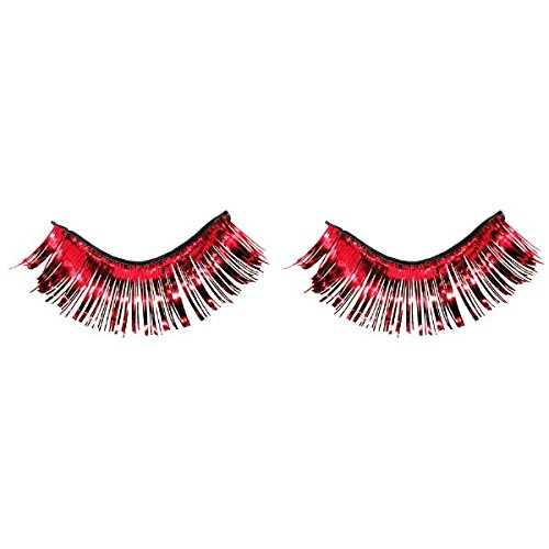 Amscan Tinsel Eyelashes, Party Accessory, -