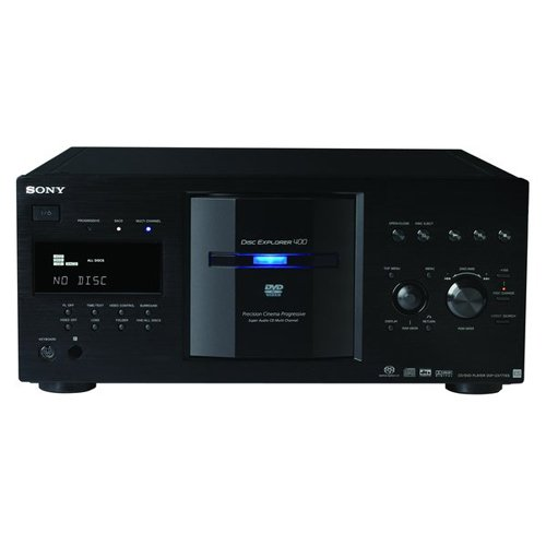 - Sony DVP-DVPCX777ES/B 400 Disc DVD/SACD/CD Changer - Black