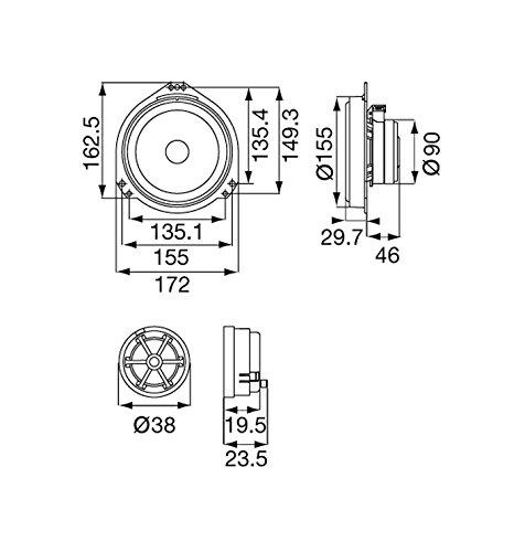 Pioneer TS-Q172C 2 Voies