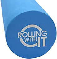 Therapeutic Grade Premium EVA Foam Roller - Tight Muscles Pain Relief, Best Firm High Density Foam Rollers for