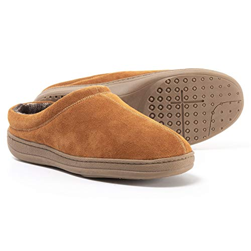 Rockport Genuine Suede Clog Slippers (for Men) - Size 10M - Tan