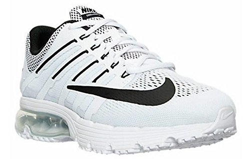 Nike Women's Air Max Excellerate 4 White/Black-White Running Shoe 8.5 Women US