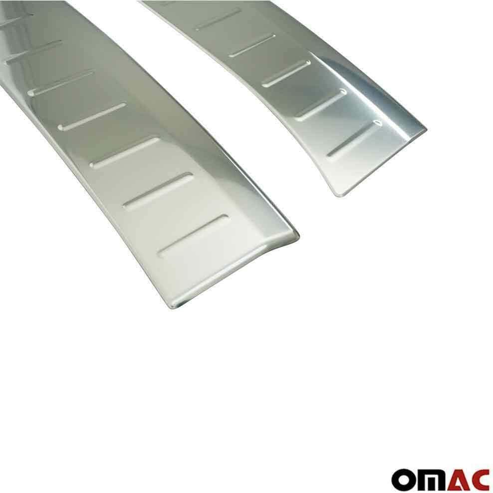 Protezione paraurti in acciaio inox cromato per Megane IV con smussatura 2 pezzi