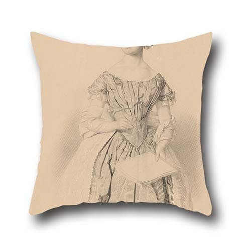 oil-painting-william-strutt-young-woman-holding-a-book-throw-cushion-covers-16-x-16-inches-40-by-40-
