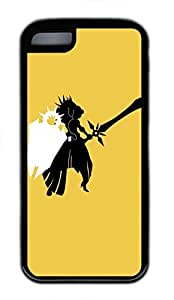 iphone 4s Case, iphone 4s Cases - Durable Protective Black Soft Rubber Back Case for iphone 4s Leona League Of Legends Minimalistic Utral Slim Soft Back Bumper Case for iphone 4s