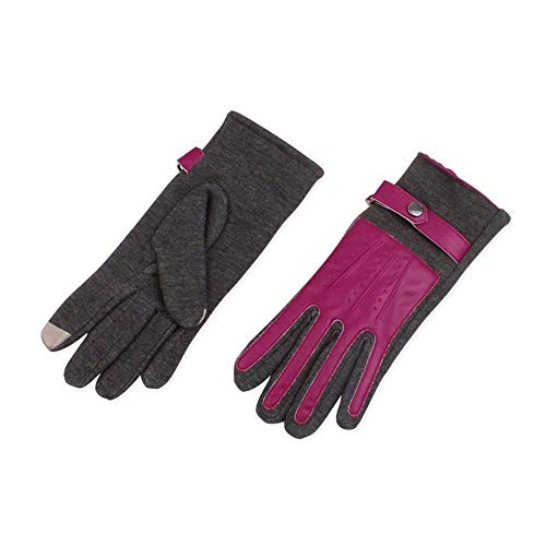 Ragazza Driving 4 Guanti Mittens Invernali Chic Fodera Touch Hx Warm Velluto Donna Fashion Sportivi Screen Da g60nqRxw