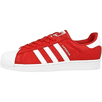 chaussures de sport adidas superstar bb2240 rouge adulte