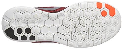 Nike Mænds Fri 5,0 Flash Kører Sneaker Hold Rød / Hyper Orange / Sort / Reflektere Sølv