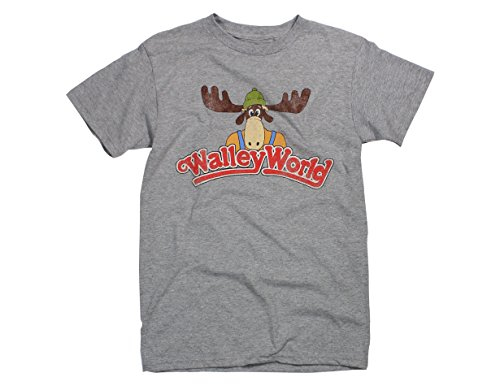 Ripple Junction Men's Vacation Wally World Logo T-Shirt 2XL Heather - Say Movie Anything T-shirts
