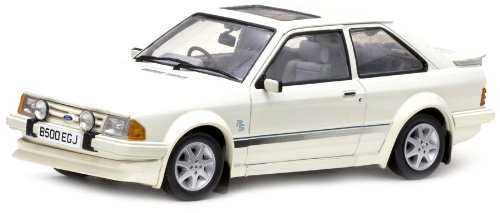 1984 Ford Escort RS Turbo [Sun Star 4961R], Blanco, 1:18 Die Cast: Amazon.es: Juguetes y juegos