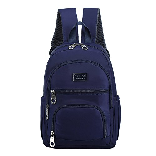 e74be7ab078d AOTIAN Small Nylon Women Backpacks Casual Lightweight Strong Packback  Daypack For Girls Cycling Hiking Camping Travel Outdoor Blue - Buy Online  in Oman.