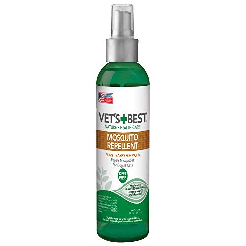 Vet's Best Mosquito Repellent for Dogs and Cats | Repels Mosquitos with...