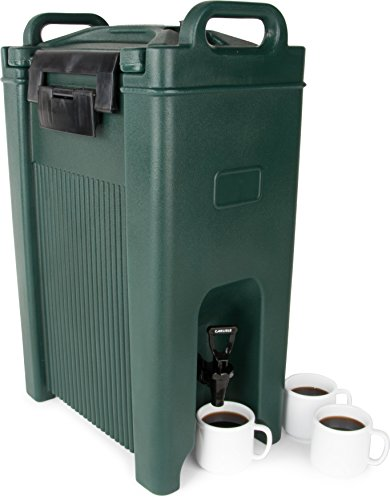 Carlisle XT500008 Cateraide Insulated Beverage Server Dispenser, 5 Gallon, Forest Green by Carlisle (Image #2)