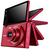 Samsung Multiview MV800 16.1MP Digital Camera with 5x Optical Zoom (Red) (Discontinued by Manufacturer) Overview Review Image