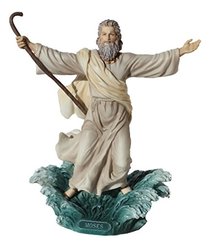Moses Parting The Red Sea Statue Figurine