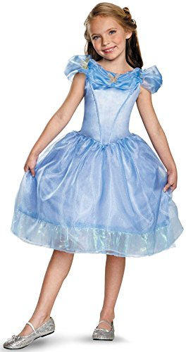 Disguise Cinderella Movie Classic Costume, Medium (7-8) (Disney Princess Girls Cinderella Classic Costume)