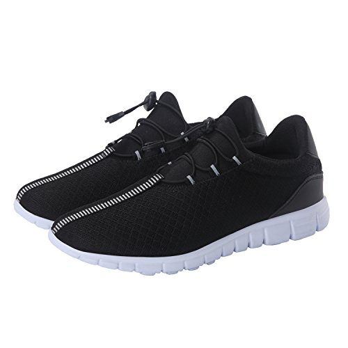 Image of Men's Running Shoes Fashion Breathable Sneakers Mesh Soft Sole Casual Athletic Lightweight Walking Shoes
