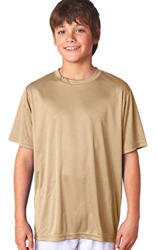dorado de manga Performance cuello corta Cooling A4 redondo color con Camiseta OwPx6Hqwg