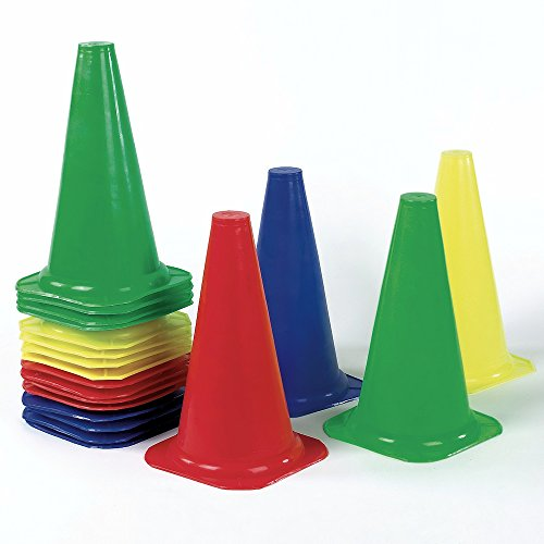 Lightweight Soccer Training Cone Pack Of 20 by Sportsgear US