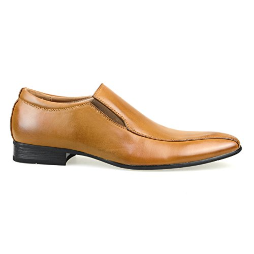 Mm / En Mens Skor Slipon Finskor Oxford Laceup Skor Present Skor Svart Mörk Brun Vit Yompt112-4brown