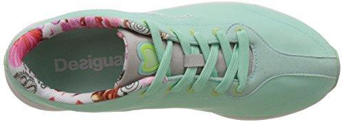 Desigual Bich - Zapatillas Mujer Verde Agua