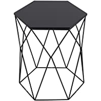 Serta Element Geometric Side Table, Black