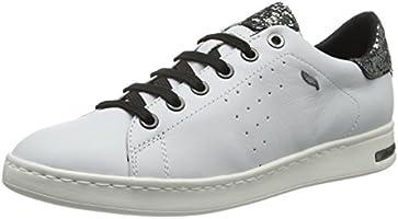 Geox Kadın Jaysen Boğazsız Ayakkabı, Beyaz, 37