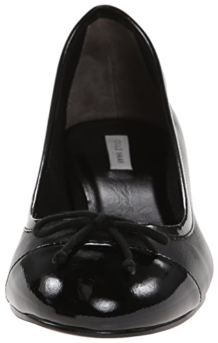 Black vestido Patent Sarina Bomba Haan Black Cole EwHqFI