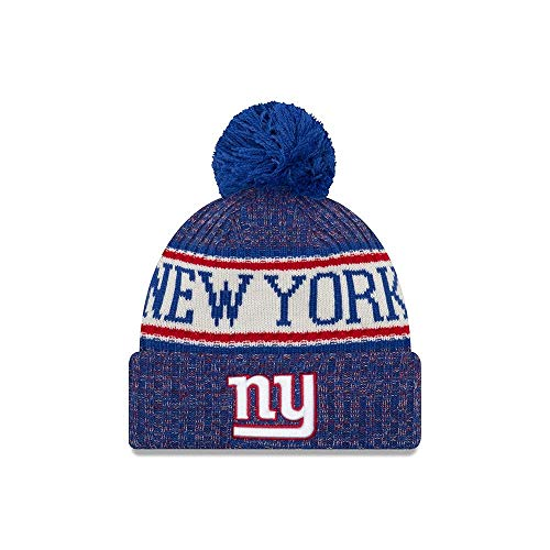 ab63faa6d7a New Era NY Giants NFL 18 Sideline Sport Knit Hat Red White Blue Size