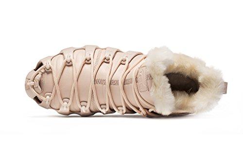 Fur Sports Lined Multi Gold Pink Purpose Ankle Boots High Sneaker Wear w1tx5Bq