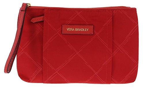 Vera Bradley Preppy Poly Wristlet Purse In Tango Red