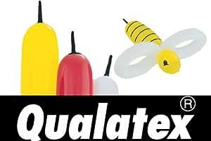 Globos Qualatex Bee body amarillos