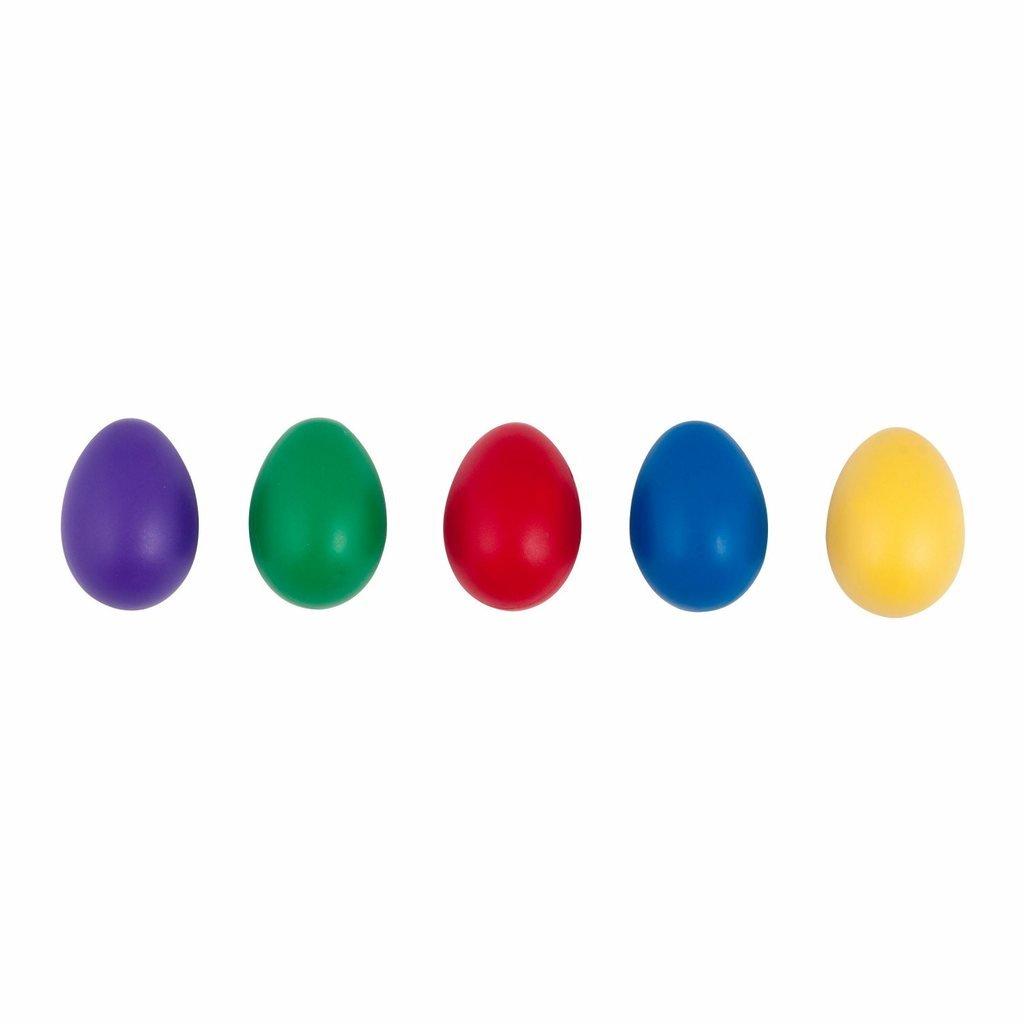 Westco Jumbo Plastic Egg Shaker - Set of 5 (2.5 inches) by Westco