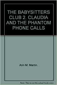 claudia and the phantom phone calls pdf