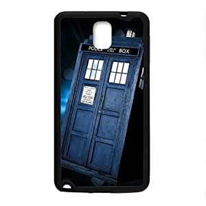 Happy Doctor Who's TARDIS Cell Phone Case for Samsung Galaxy Note3