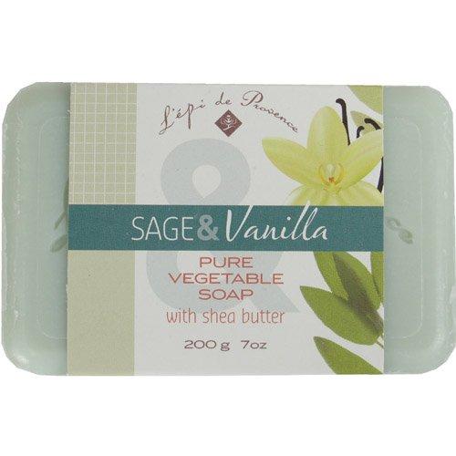 2 PACK Epi de Provence Sage Vanilla 200 gr Shea Butter (Vanilla Sage)