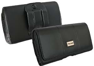 Riñonera Max para HTC Desire S Funda bolsillo lateral funda horizontal transporte Clip Holster Case Carcasa Funda Protector Para Cinturón