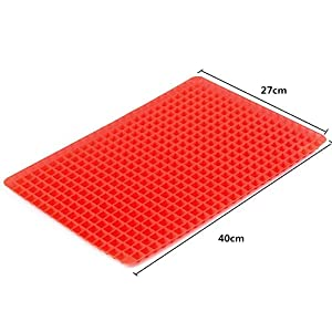 1 piece NEW Pyramid Bakeware Pan Nonstick Silicone Baking Mats Pads Moulds Cooking Mat Oven Baking Tray Sheet Kitchen Tools