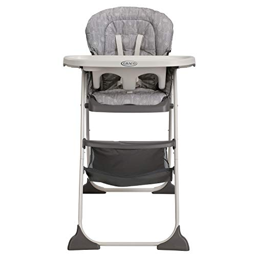 41ifjESdtkL - Graco Slim Snacker High Chair | Ultra Compact High Chair, Whisk
